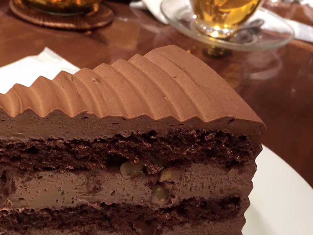 チョコレートケーキ(¥680)