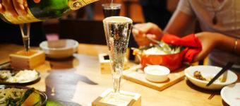 あふれスパークリングワインが何杯でも100円!(5月31日まで)大衆ビストロ煮ジル 吉祥寺店に行ってきた